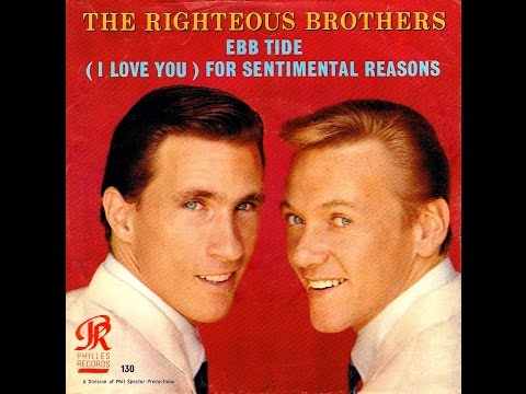 Righteous Brothers - EBB TIDE (Perry Botkin, Jr.)  (1965)