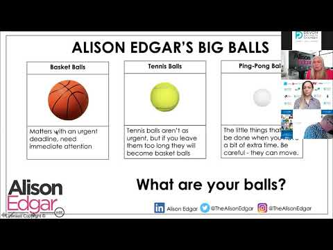 Alison Edgar - Seminar Three: Building a Confident Sales Strategy