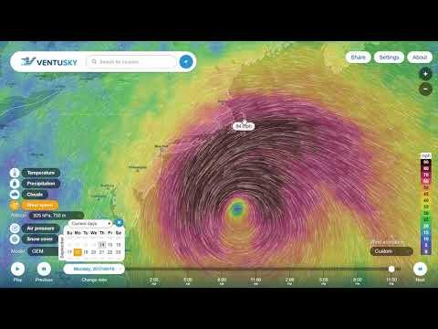 Hurricane Jose Tracks Indicate NYC / Boston / Maine Affected