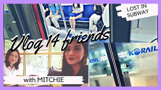 VLOG 14 SUBWAY EXPERIENCE | MEETING MY FRIEND MITCH | SURPRISE FOR RICO | solo flight