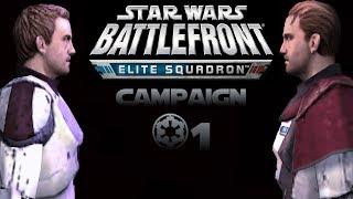 Star Wars Battlefront  Elite Squadron Campaign Mission 1 - Tatooine