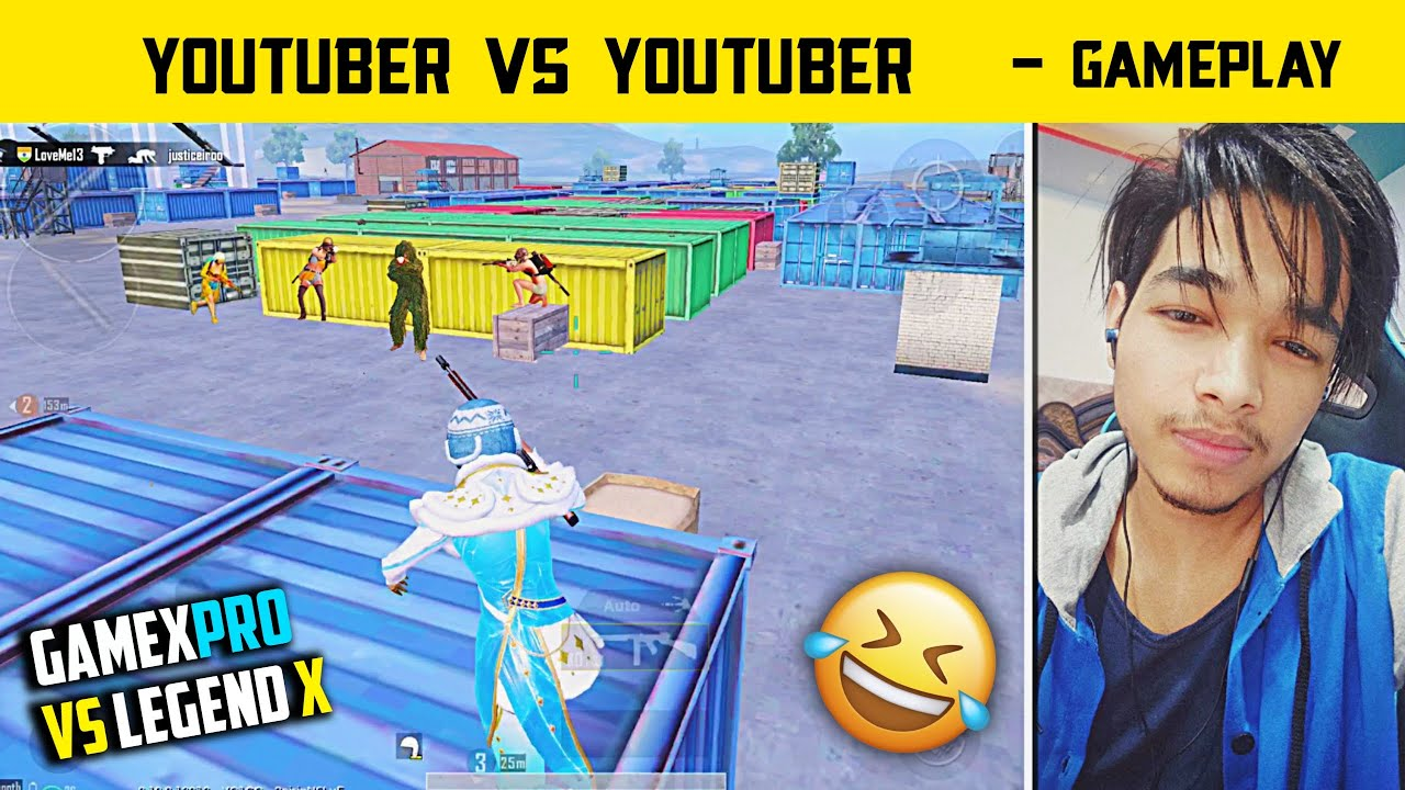 😤Legend X Vs Gamexpro Fight Controversy - Youtuber Vs Youtuber Who Is Best - Pubg Mobile