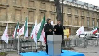 Jean Dionis soutient le changement démocratique en Iran