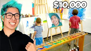 First To Finish Art School Wins $10,000 Challenge! | ZHC Crafts