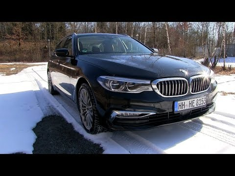 2018 BMW 520d G31 Touring (190 HP) TEST DRIVE