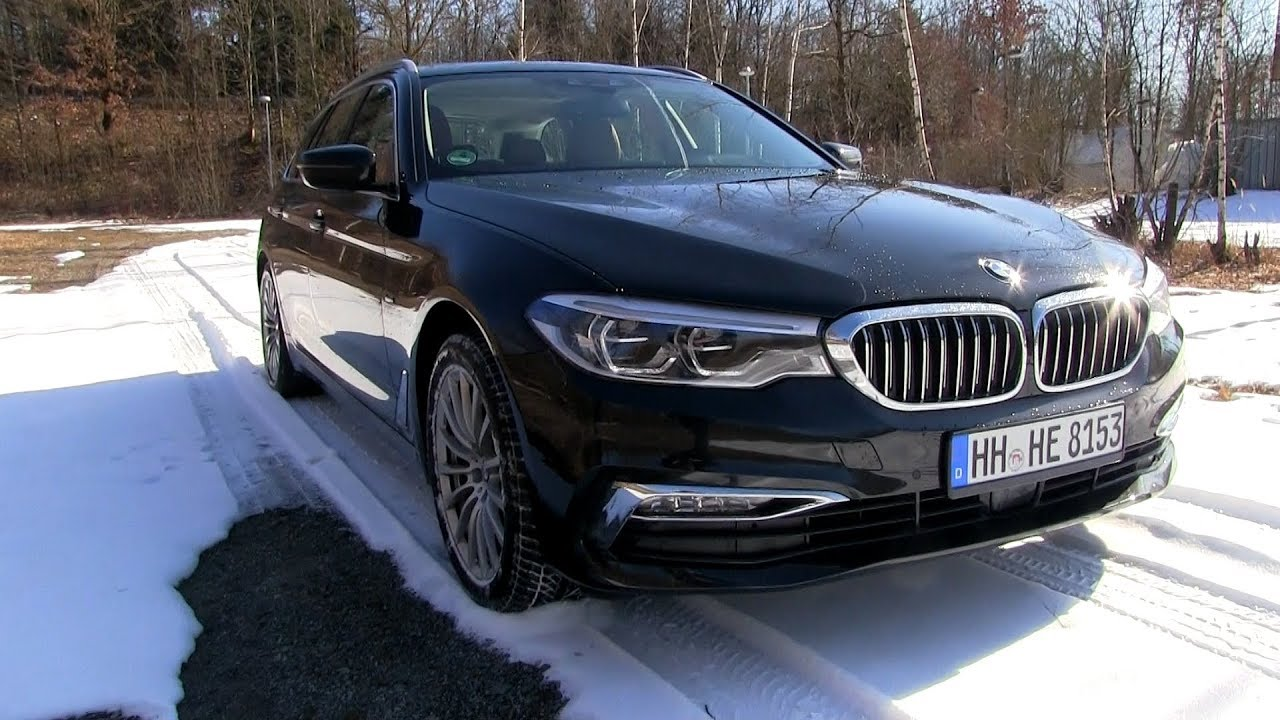 2018 bmw 520d g31 touring 190 hp test drive youtube. Black Bedroom Furniture Sets. Home Design Ideas