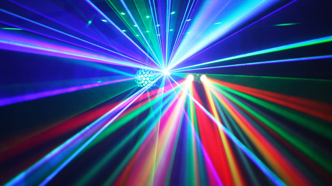 party disco lighting setup demo youtube