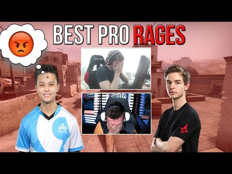CS:GO - BEST PRO RAGES ft. Stewie2K, steel, TaZ, kennyS, dev1ce & More! (Funny RAGE Moments)