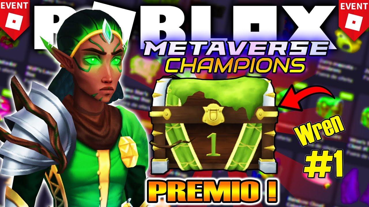 Download 🤑 Como Conseguir PRIMER PREMIO WREN BRIGHTBLADE! *Evento* ROBLOX METAVERSE CHAMPIONS (#1 CAJA)