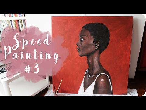 Acrylic Speed Painting #3