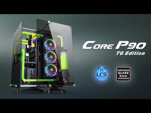 Thermaltake Core P90 Tempered Glass Edition Corner Wall Pc