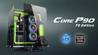 Thermaltake Core P90 Tempered Glass Edition Mid-Tower Chassis Product Animation