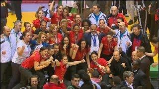 تتويج منتخب تونس ببطولة افريقيا للسيدات لكرة اليد بالجزائر