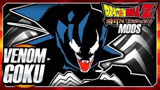 Dragon Ball Z Shin Budokai 2 Mod: Venom Goku Black DLC (Marvel Spiderman Fusion) Mod Gameplay