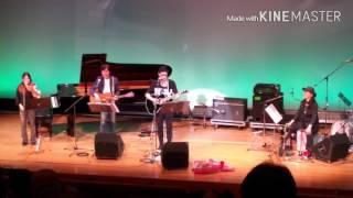 2016年高槻ジャズストリート、俳優の大杉漣さん率いるバンドのライブ後...