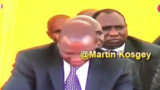 Murkomen words to William Ruto at Kipchoim funeral