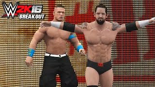 WWE 2K16 Attitude Adjustment Breakouts!