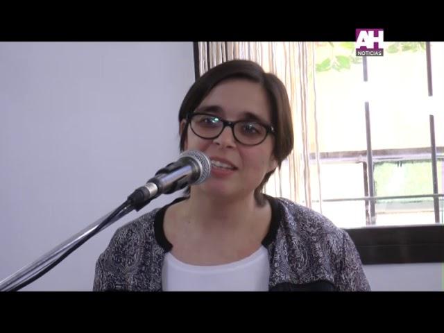 GABRIELA BELFORTTI   INAUGURACION NUEVA ALA EN EL HOGAR SAN JOSE