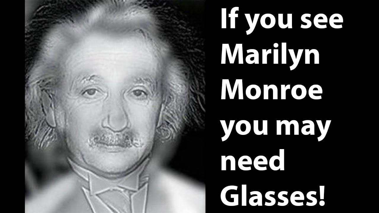 Do you see Einstein or Marilyn Monroe  EYE TEST - YouTube 5baa4efcaa19