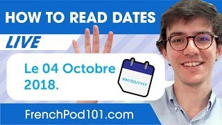 How to Read and Write Dates in French - Learn Basic French