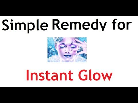 Remedy for Instant Glowing Skin | Birthday | Marriage | Any other Party