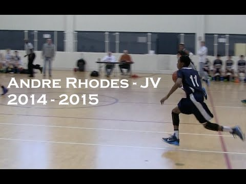 Andre Rhodes (JV) #11 | Vol 3 | The Oakridge School | Basketball Highlights | 2014-2015