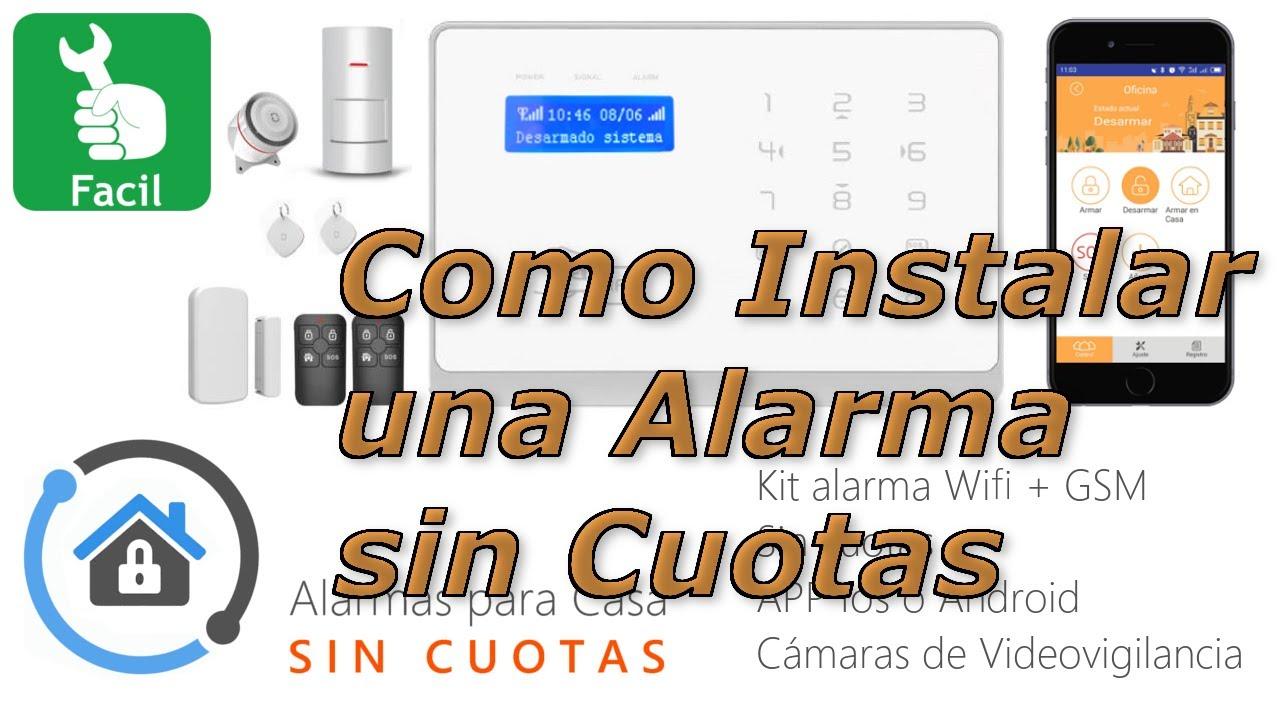 Instalar una alarma para casa sin cuotas youtube - Alarmas baratas para casa ...