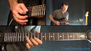 Megadeth - Hangar 18 Guitar Lesson (Part 3)