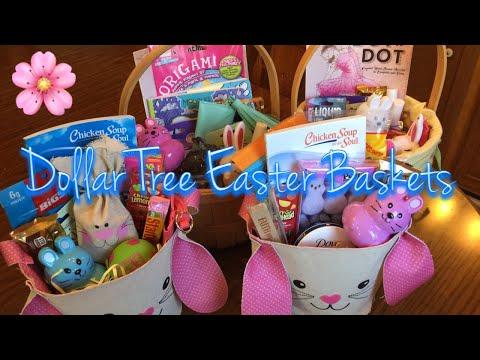 Dollar Tree Easter Baskets | 2018