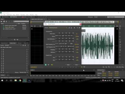 Adobe Audition cs6 Rap vocal Mix & Mastering making  Proffessional