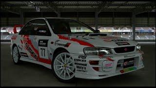 Hot Lap Sport: 1999 Subaru Impreza Coupe WRX Type R STi Version VI - Gran Turismo Sport