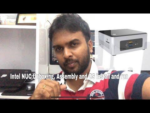 Intel NUC Unboxing, Build and Setup