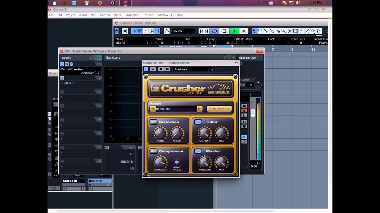 how to use cubase to make beats
