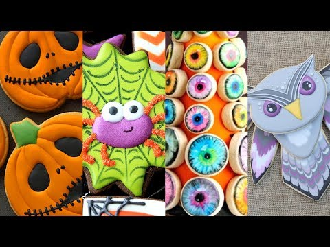 BEST HALLOWEEN COOKIES! Cookie Decorating Video Compilation