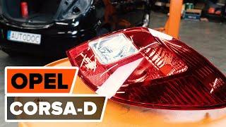 Video tutorial e manuali di riparazione per OPEL CORSA - per mantenere la Sua auto in perfetta forma