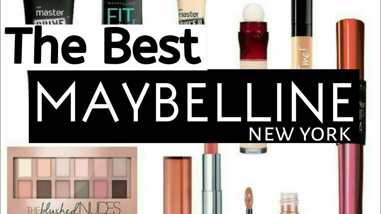Best Maybelline Products in India With Price 2018