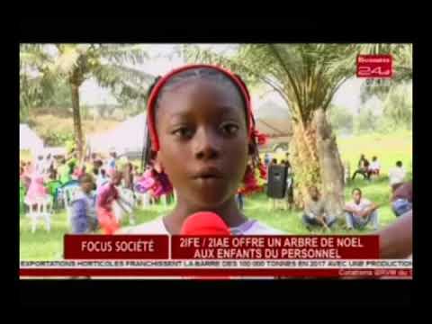 Business 24 / Focus Société : 2IFE- 2IAE offre un arbre de noël aux enfants du personnel