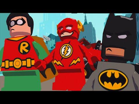 SuperHero Batman Vs Captain Cold Vs Robin™ VsThe Flash | LEGO DC Super Heroes Mighty Micros