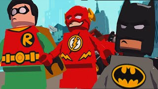 SuperHero Batman Vs Captain Cold Vs Robin™ VsThe Flash | LEGO DC Super Heroes Mighty Micros