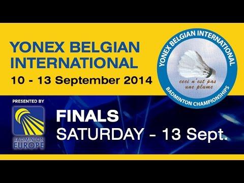 Finals - MS - Hans-Kristian Vittinghus vs Marc Zwiebler - 2014 Yonex Belgian International