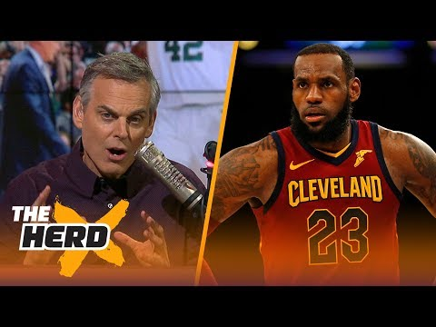 Colin Cowherd talks LeBron's Cavs vs Celtics, 76ers and Ben Simmons  NBA  THE HERD