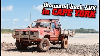 $1,000 HiLux takes on CAPE YORK! • Old Tele Track