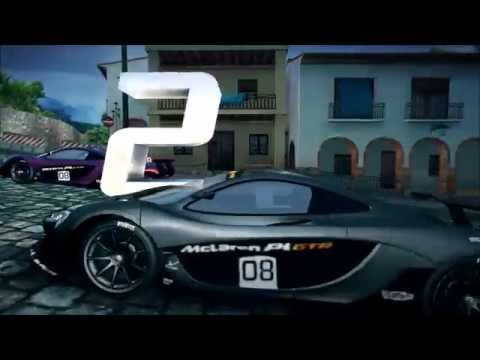 asphalt 8 mclaren p1 gtr cup cloud nine 1 09 003 youtube. Black Bedroom Furniture Sets. Home Design Ideas
