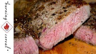 Cast Iron Seared Ribeye Steak - Recipe