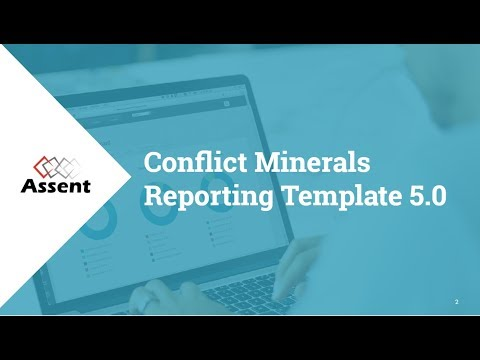 [Webinar] Conflict Minerals Reporting Template 5.0