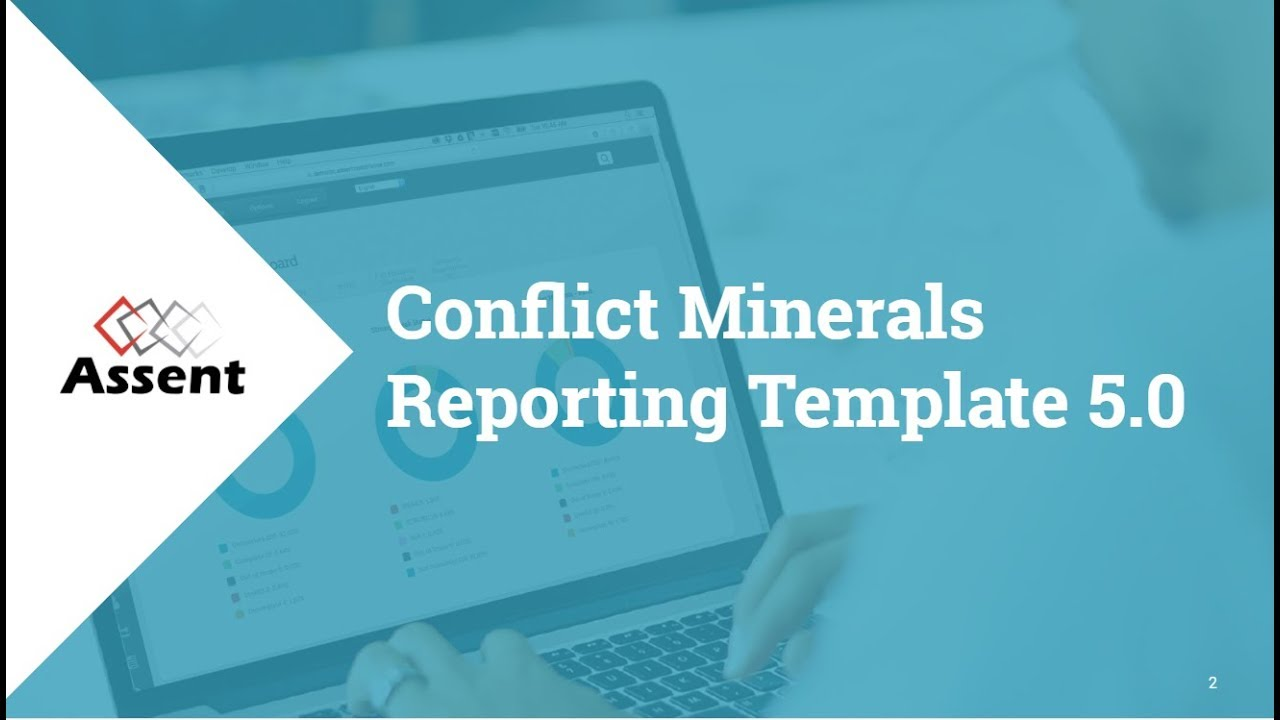 Webinar Conflict Minerals Reporting Template 50 Youtube