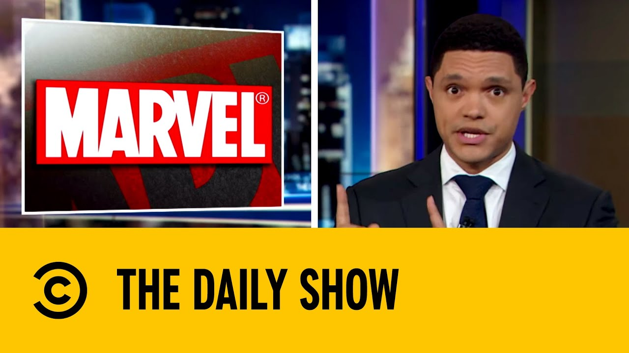 Marvel Announces Huge TV and Movie Release | The Daily Show With Trevor Noah