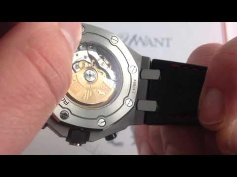 Audemars Piguet Royal Oak Offshore Chronograph Luxury Watch Review