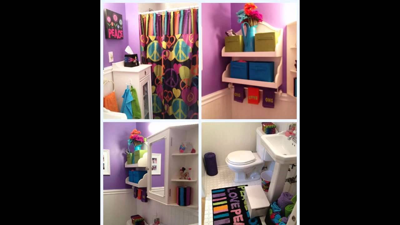 Cute Girls Bathroom Decorating Ideas