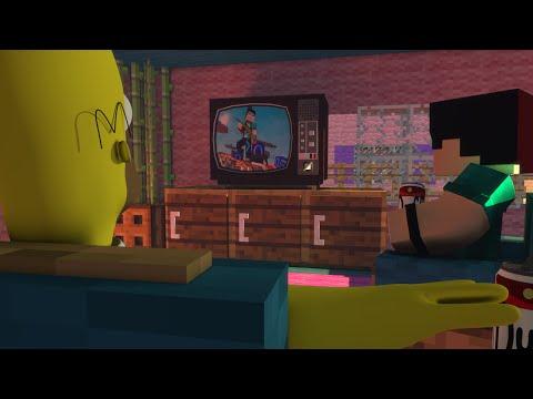 Minecraft: OS SIMPSONS! - BUILD BATTLE MINI GAME